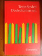 Texte Für Den Deutschunterricht / Geschichten Für Das 2. Schuljahr  De 1968 - Livres Scolaires