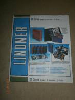 LINDNER OMNIA 08 SCHWARZ. - Albums & Reliures
