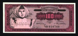 100 Dinara YOUGOSLAVIE Billet Fantaisie (N° 245-2) - Yugoslavia