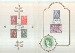 Antituberculose 1964-1965 - Cartes Souvenir
