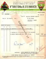 94 101 VITRY SUR SEINE 1954 Savonnerie Produit Port � l Anglais BRETON & STEINBACH 10/12 Edith Cavell Marque OXYDRIN