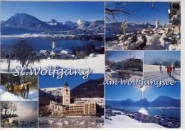 ST. WOLFGANG -  Mehrbildkarte, Mehrfachansichten - St. Wolfgang