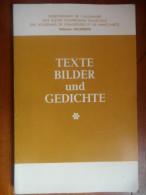 Texte Bilder Und Gedichte (enseignement De L'allemand)  De 1973 - Livres Scolaires