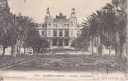 MONTE CARLO-CASINO ET JARDINS-DOS UNIQUE-1903- TTB - Monte-Carlo