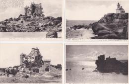 LOT  DE  8  CPA  DE  PLOUMANACH  - Toutes Scanées - Cartoline