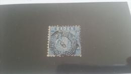 LOT 223895 TIMBRE DE ALLEMAGNE BADEN OBLITERE N�14 VALEUR 85 EUROS