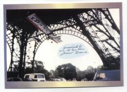 PASSAGE SOUS LA TOUR EIFFEL LE 26/11/1986 PAR LE PILOTE GERARD DANCE GUINESS DES RECORDS 1988 - Monuments
