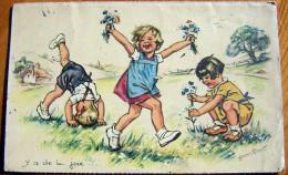 Cpa Germaine Bouret - Y A De La Joie - Serie 1938 - Bouret, Germaine