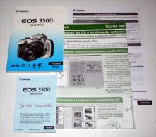 CANON 350 D Digital - Italian / Documentation - Photo