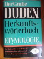 Duden / Der grsse 7 / Etymologie de 1963