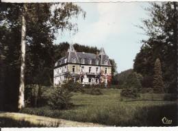 LUSSE (Vosges)  -  Le Château ( Colonie De Vacances- Lire Texte)  - CARTE GRAND FORMAT  - VOIR 2 SCANS - - Autres Communes