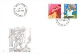 SWITZERLAND 1981 EUROPA CEPT FDC - 1981