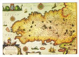 LA BRETAGNE  LA CARTE DU DUCHE DE BRETAGNE DATEE DE 1570 - France