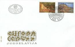 YUGOSLAVIA 1977 EUROPA CEPT FDC - Europa-CEPT