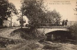 BELGIQUE - LUXEMBOURG - FLORENVILLE - VILLERS-DEVANT-ORVAL - Route De La Gare - Pont Tremblois. - Florenville