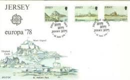 JERSEY  1978  EUROPA CEPT FDC /zx/ - Europa-CEPT