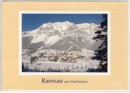 RAMSAU Am Dachstein - Panorama,   Sondermarke Schleiereule - Ramsau Am Dachstein