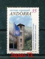 ANDORRA (Span. Post) Mi.Nr. 270  EUROPA -50 Jahre Europarat - MNH - Europa-CEPT