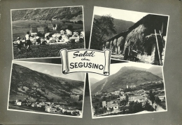 SEGUSINO  TREVISO  Saluti Da..  4 Vedute - Treviso
