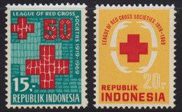 1441. Indonesia, 1969, Red Cross, MNH (**) - Indonésie