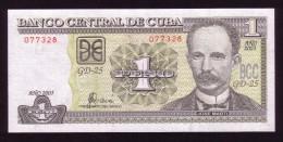 Cuba - 1 Peso - 2003 .  UNC - Cuba