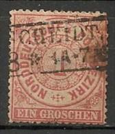 Timbres - Allemagne - Conf. De L´All. Du Nord - 1868-69 - 1 C. - N° 4 -