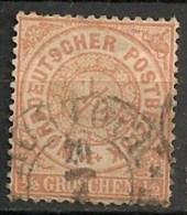 Timbres - Allemagne - Conf. De L´All. Du Nord - 1868-69 - 1/2 C. - N° ? -