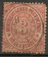 Timbres - Allemagne - Conf. De L´All. Du Nord - 1868-69 - 3 C. - N° 20 -