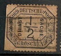 Timbres - Allemagne - Conf. De L´All. Du Nord - 1868-69 - 1/2 G. - 1870 -