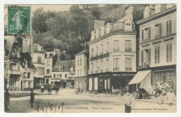 27 - Pont-Audemer          Place Vallemont - Pont Audemer
