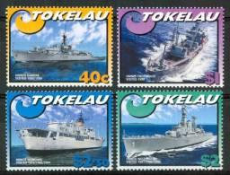 2002 Tokelau Navi Ships Navires  Set MNH** Nu158 - Tokelau