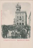 Saint  Marin :   Vue   La  Reggenza  Ed  Il  Suo   Corteo - Saint-Marin