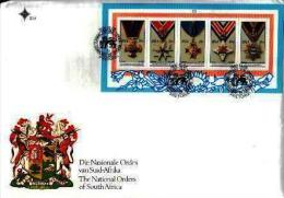 RSA, 1990, Mint First Day Cover Nr. S-17, National Orders Block MS19, SACCnr(s) - FDC