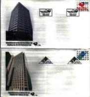 RSA, 1991, Mint First Day Cover, Nr. 5-15a+5-15b, Post & Telecom, SACCnr(s) - FDC