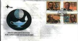 RSA, 1991, Mint First Day Cover, Nr. 5-16, Scientists, SACCnr(s) - FDC