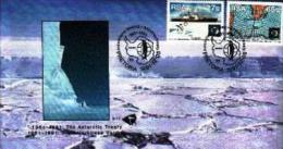 RSA, 1991, Mint First Day Cover, Nr. 5-17, Antarctic Treaty, SACCnr(s) - FDC