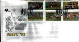 RSA, 1992, Mint First Day Cover, Nr. 5-20-1, Sports, SACCnr(s) - FDC