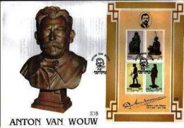 RSA, 1992, Mint First Day Cover, Nr. S-18, Anton Van Wouw Block Ms20, SACCnr(s) - FDC