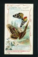 Chocolaterie Aiguebelle - Drome - Monde Insectes - Papillons - Lépidoptères - Ecaille Marbrée - Grand Paon Nuit - 10 093 - Aiguebelle
