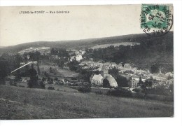 27 - Lyons La Foret -Vue Générale -  Bel état - Bel Affranchissement - 1925 - - Lyons-la-Forêt
