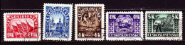 CSSR 1945 - 455-59 O / Michel - Used Stamps