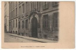 75 - PARIS 1 - Ecole (Notre-Dame) Saint-Roch (37 Rue St-Roch) - Façade Et Entrée - District 01