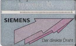 PTT: K-91/25B 110E Siemens, Der direkte Draht