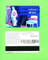 UK - Magnetic Gift Card/Habitat - Unclassified