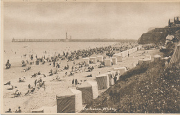 """U.K. - The Sands, Whitby (Beach And Bathers) - By HORNE & SON Ltd., """"STUDY"""" POSTCARD - Whitby"""