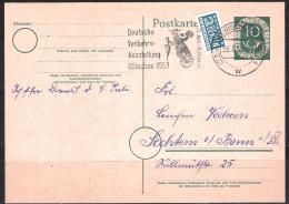BRD Ganzsache P 12 Gelaufen Stempel Ludwigshafen Rhein ( D 601 ) - Postkarten - Gebraucht