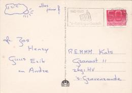 Ansicht Overloon 12 Jul 1985 's Hertogenbosch (machinestempel) 800 Jaar 's Hertogenbosch - Postal History