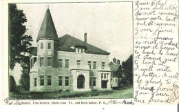 Haskell Free Library, Derby Line, Vermont And Rock Island, Quebec - Quebec