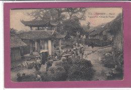 TONKIN - HANOÏ .- Pagodon Au Village Du Papier - Cartes Postales