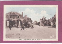 36.- SAINT-AOUT .- Route De La Châtre - France